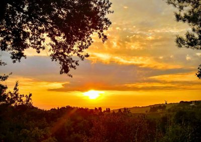 San Martino sunrise, Tuscany